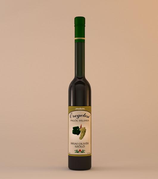Öregetesi Irsai Olivér szőlő Pálinka